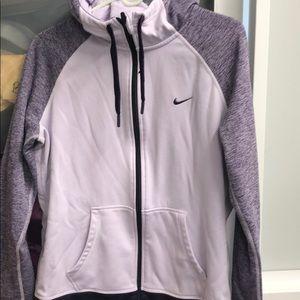 Nike drifit pull up sweatshirt